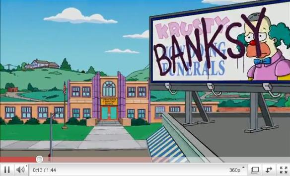 SimpsonsBanksy